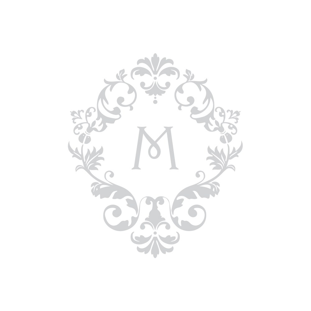 Monogram Simplicity Thank You Card With Fold   Classic Filigree