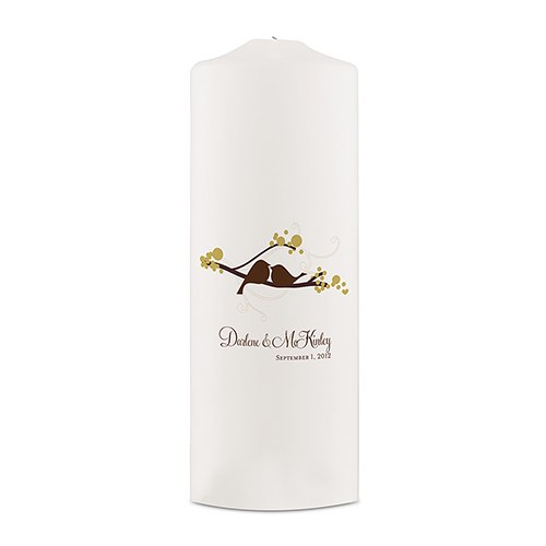 Love Bird Personalized Unity Candle