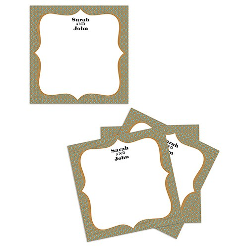 Personalized Wedding Memory box Well Wishing Cards