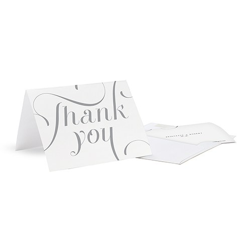 Expressions Wedding Thank You Card