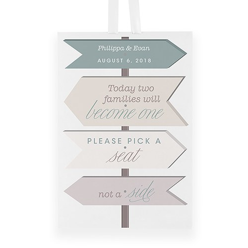 Wanderlust Pick A Seat Directional Poster Sign