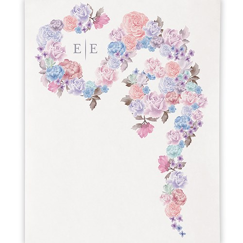 Floral Dreams Personalized Canvas Photo Backdrop