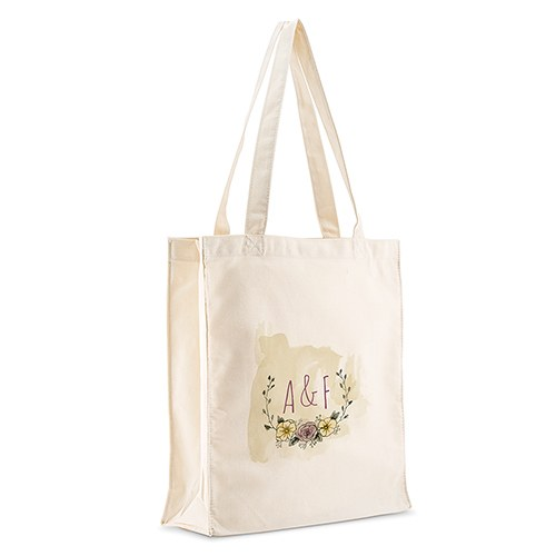 Natural Charm Personalized Tote Bag