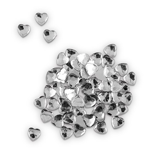 Clear Diamond Heart Jewels