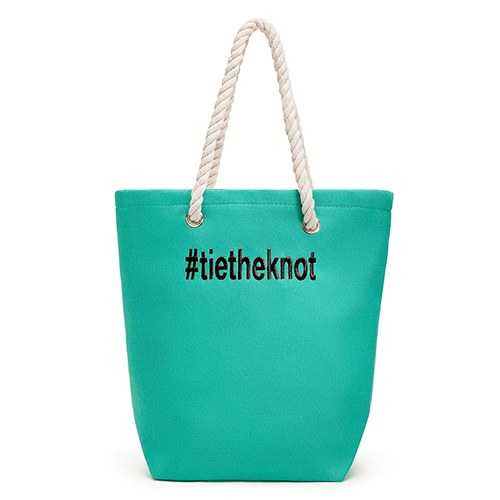 Large Custom Tote Bag - Green
