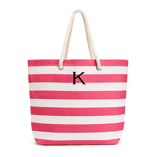 Extra Large Custom Tote Bag - Pink