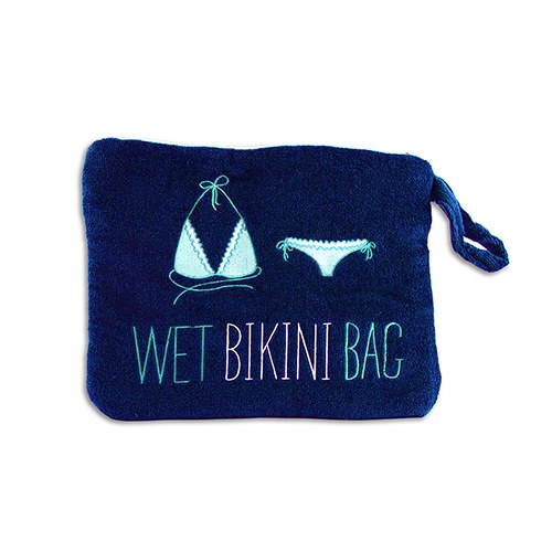 Wet Bikini Bag Navy