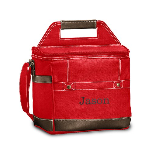 Loden Cooler Bag Red