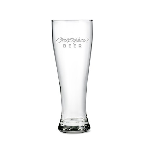Giant Engraved Beer Glass Gift - Casual Etching