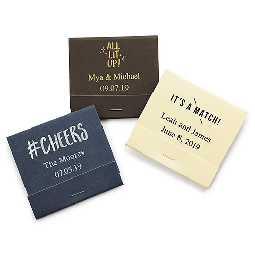Personalized Matchbook