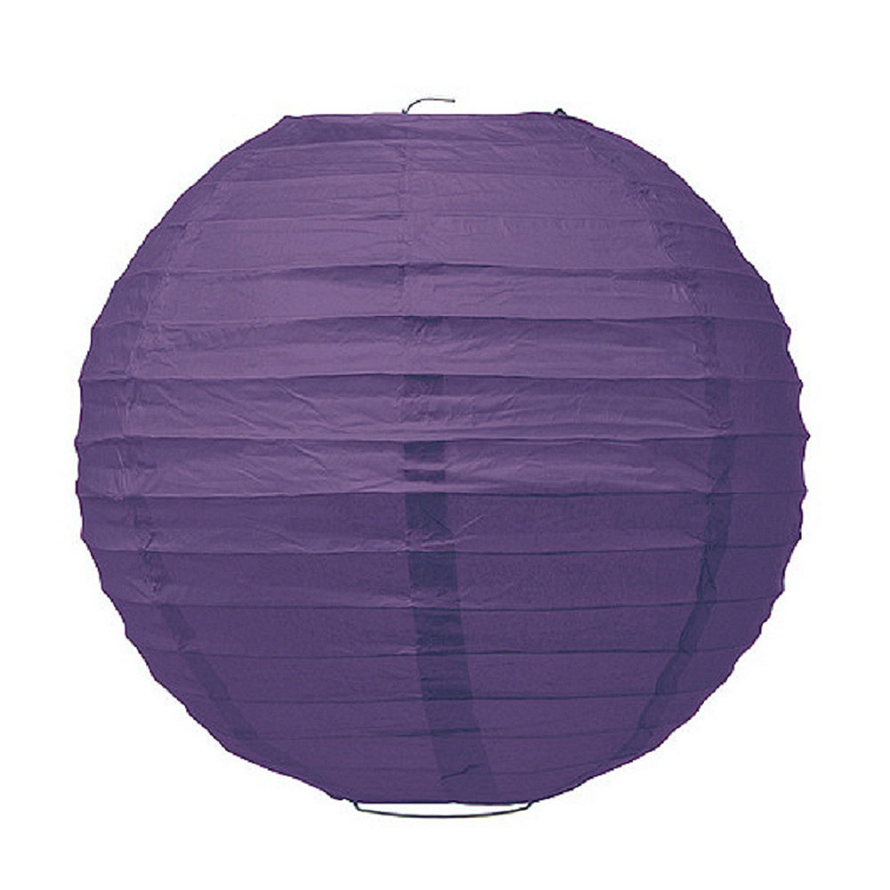 Large Paper Lantern Purple
