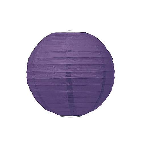 Small Paper Lantern Purple