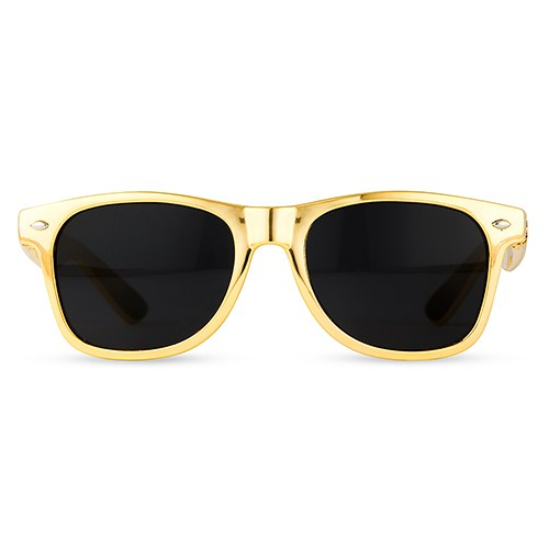 Fun Shades Sunglasses - Metallic Gold