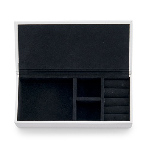 Large Faux Leather Jewelry Box- Hello Gorgeous