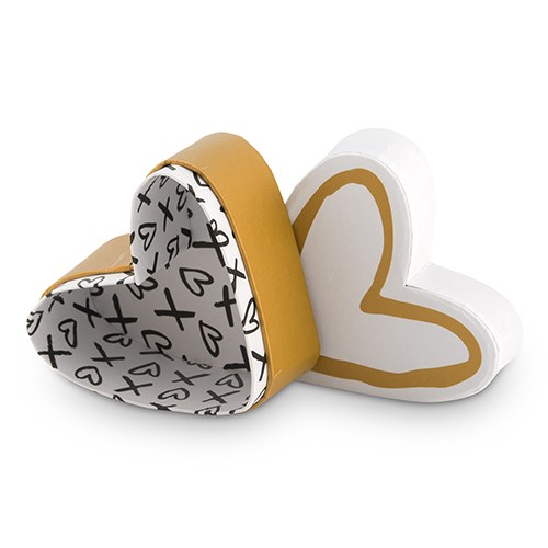 Heart & Kisses Favor Box