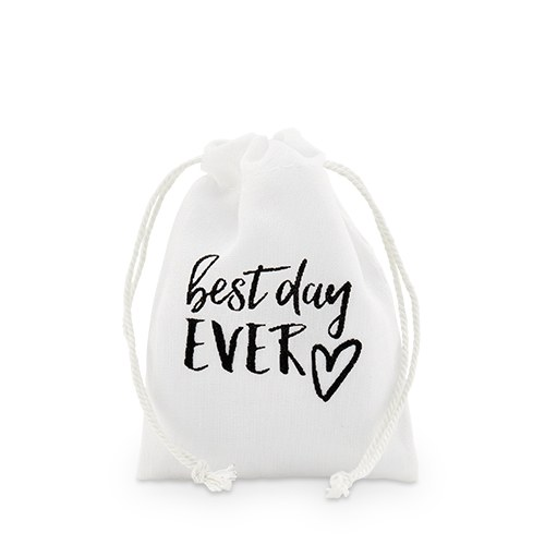 Cotton Drawstring Bag with