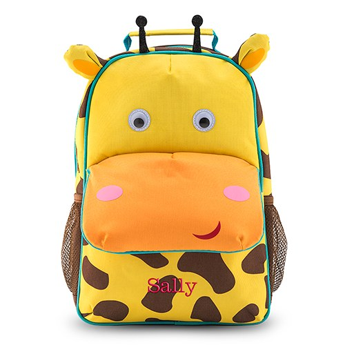 Personalized Kids' Backpack - Giraffe