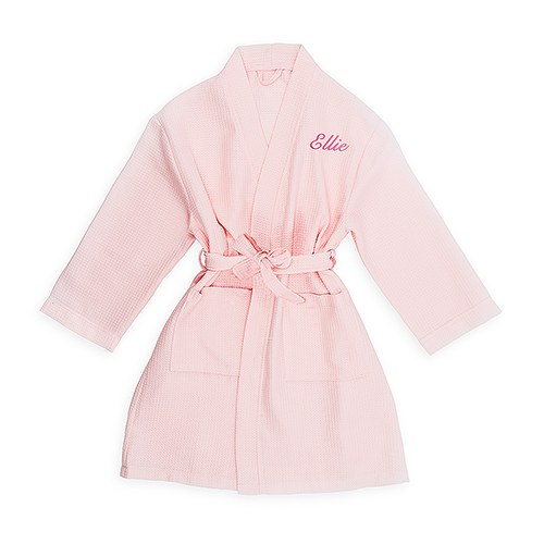 bc3aed0739 Personalized Embroidered Junior Bridesmaid Waffle Robe with Pockets ...