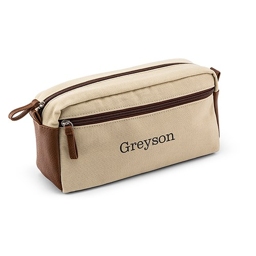 a780aa8c0df9 Men s Travel Toiletry Bag - Canvas - The Knot Shop
