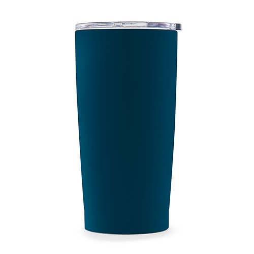 Stainless Steel Insulated Travel Mug – Plain Navy Blue
