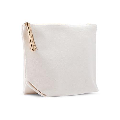 Canvas Makeup And Toiletry Bag For Women