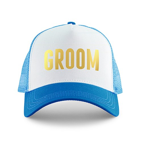 Wedding Party Snapback Trucker Hats - Groom