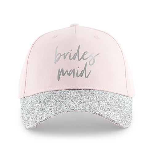 Women's Wedding Party Glitter Hats - Bridesmaid