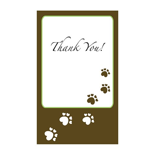 Wedding Hounds Wedding Favor Stickers