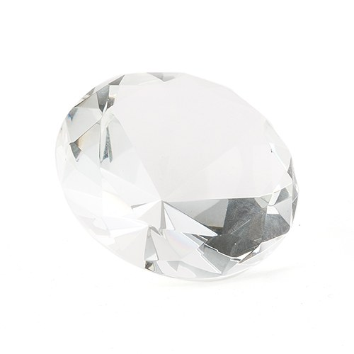 Wedding Diamond Shaped Paper Weight Accessory