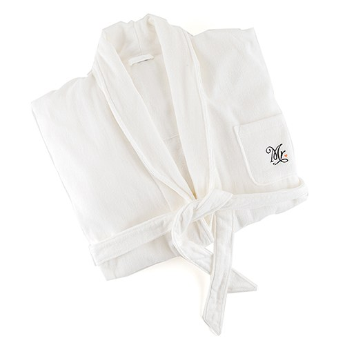 0d412df239 Personalized Bride   Groom Bathrobes