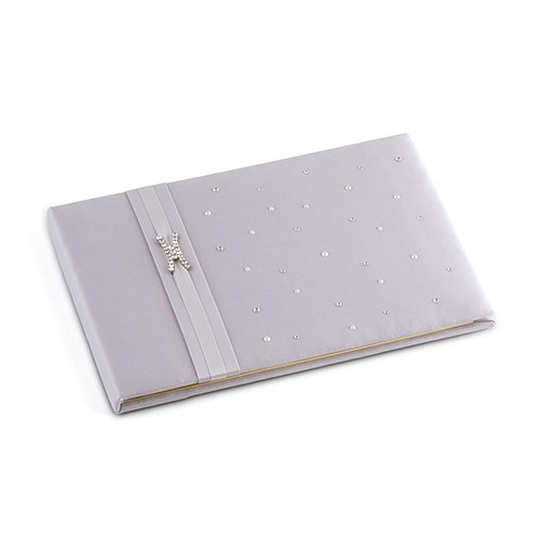Platinum By Design Traditional Wedding Guest Book