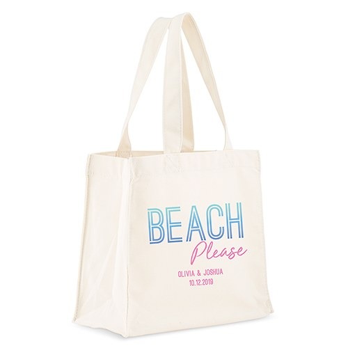 tote bags personalized beach totes the knot shop