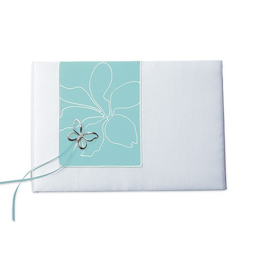 Butterfly Dreams Traditional Wedding Reception Guest Book