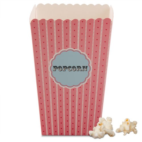 Novelty Popcorn Boxes The Knot Shop Magnificent Decorative Popcorn Boxes