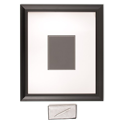 Black Framed Inscribable Signature Keepsake Mat Kit - The Knot Shop