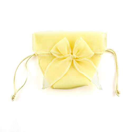 Organza Favor Pouch Candy Bags with Bow The Knot Shop