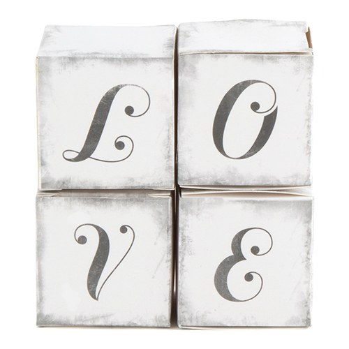 love wedding favor boxes