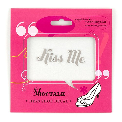 Kiss Me Shoe Talk Decals for Shoes