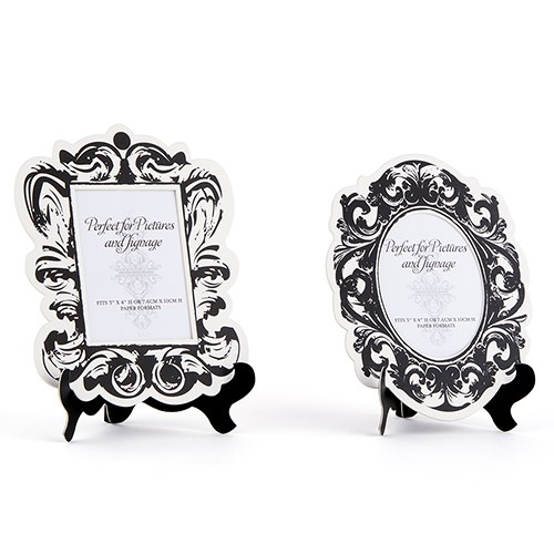 Baroque Paper Frames with Table Easel - Large - The Knot Shop
