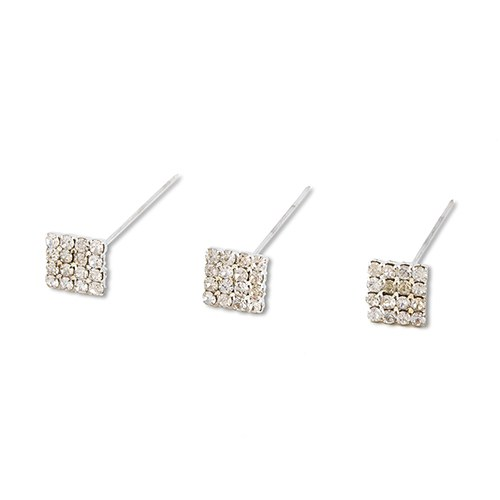Crystal Square Bouquet Jewelry