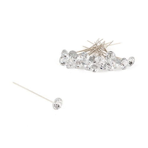 Plastic Diamond Bouquet Jewelry - 10 mm