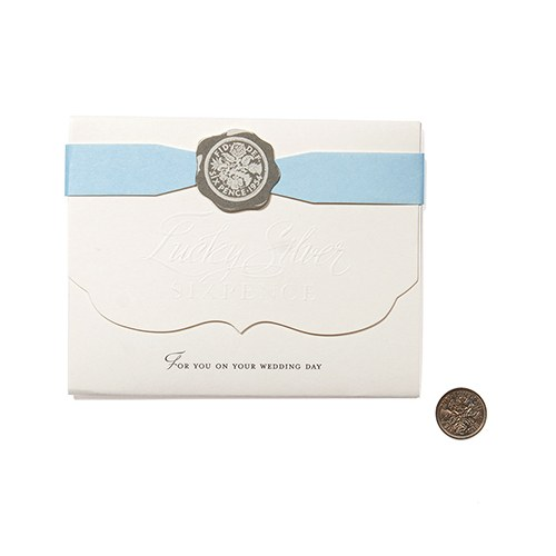 Lucky Silver Sixpence