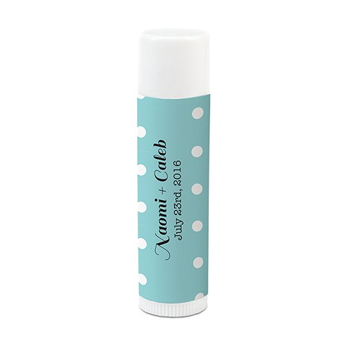Candy Colorful Lip Balm Label