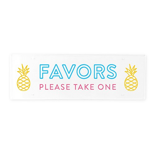 Small Acrylic Sign Board - Summer Vibes Print