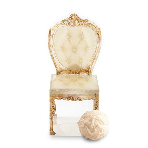 Transparent Chair Wedding Favor Box