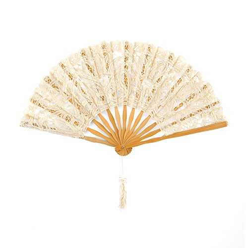 wedding fans lace hand fans printed silk fans the knot shop