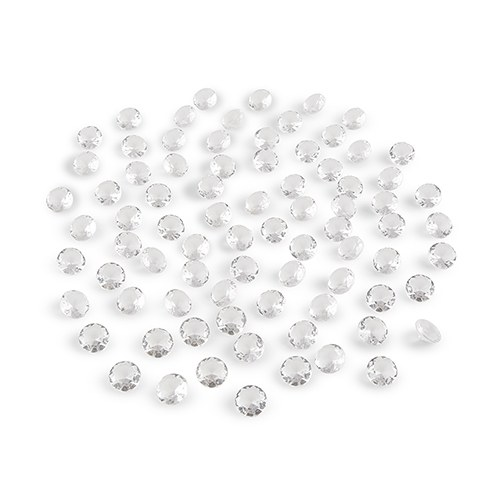 Decorative Acrylic Cut Diamond Shapes Small