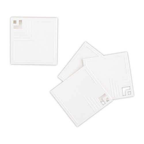 Cubist Laser Embossed Stationery