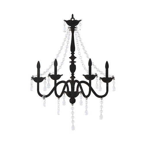 Chandelier Silhouette Wall Decoration