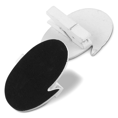 Speech Bubble Shaped Chalkboard Clips